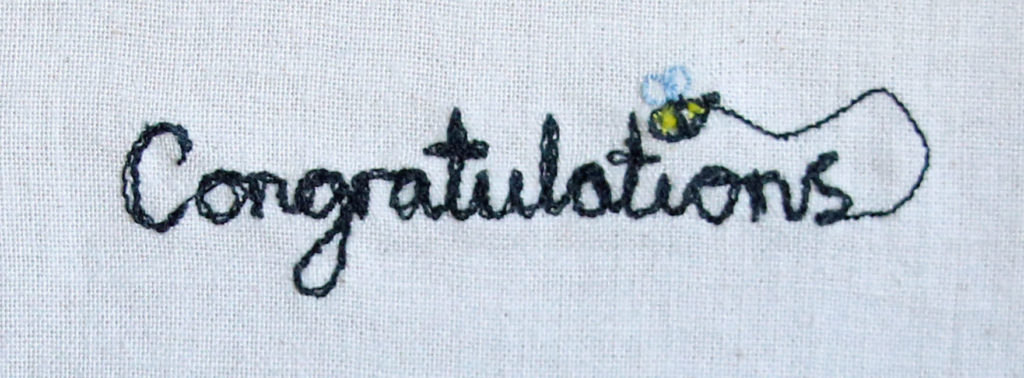 Free Motion Embroidery – drawing and writing with my sewing machine