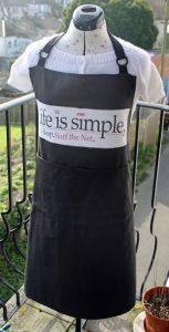 Eat.Sleep.Surf the net. Apron
