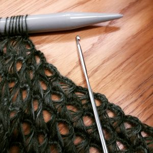Wool makes update: Crochet by day, knit by night