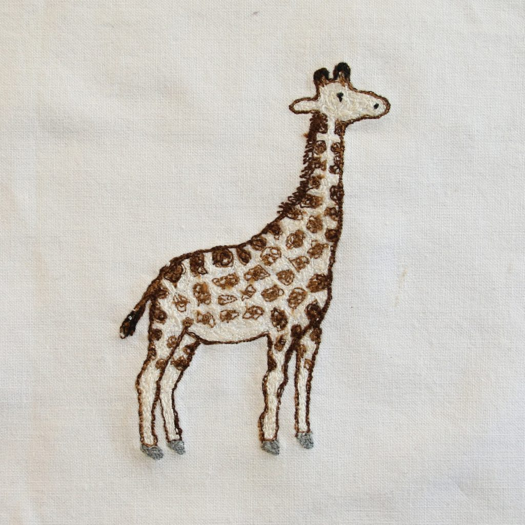 100 day project - Day 24 Giraffe