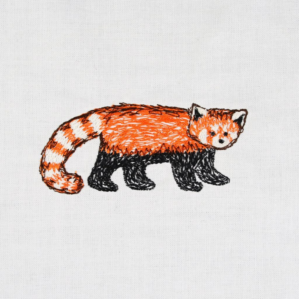 Hundred Day Project - Day 94 Red Panda